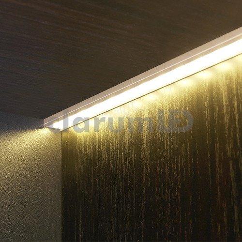 profil led begton12 1 m srebrny liniowe o wietlenie. Black Bedroom Furniture Sets. Home Design Ideas