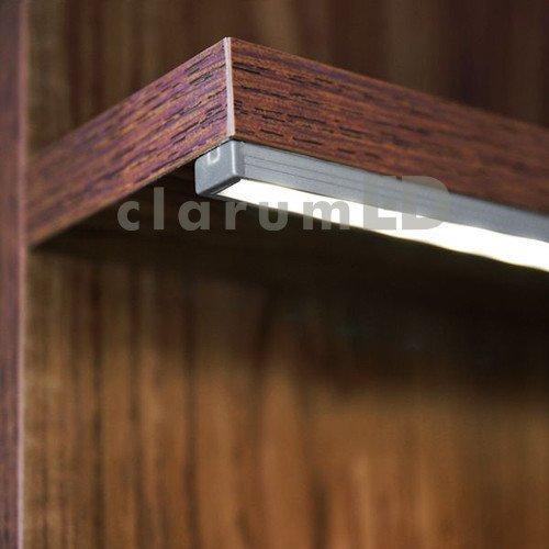 profil do monta u ta m led slim srebrny 2 m liniowe. Black Bedroom Furniture Sets. Home Design Ideas